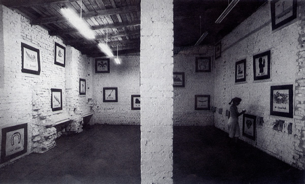 View of Berlin 1992 Exhibition.