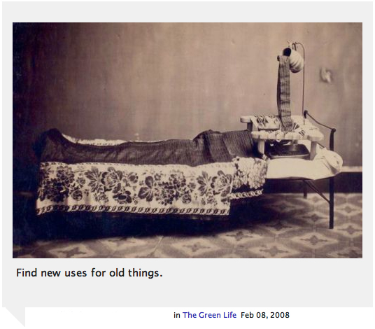 My words on smithmag net - New uses for old things ...